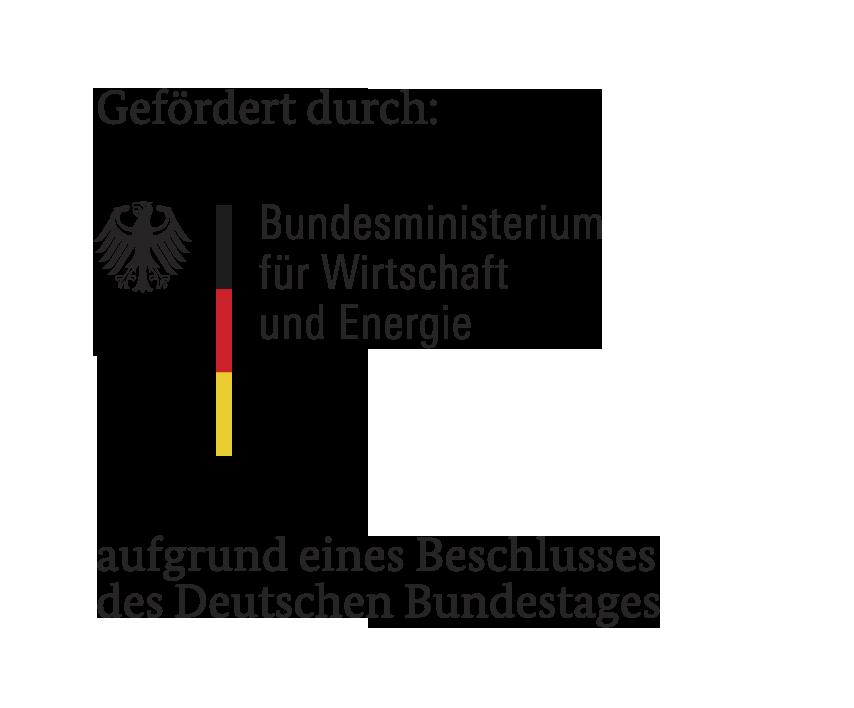 Gefördert durch das Bundeministerium für Wirtschaft und Energie